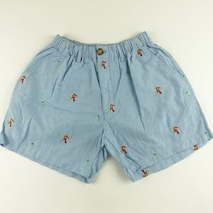 Chubbies Men Parrot Embroidery Shorts A6307